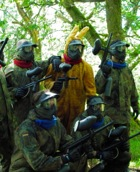 featured Stag group paintball